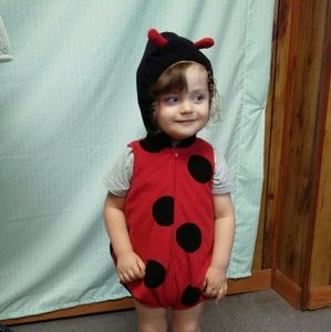 Carter's lady bug outfit /costume